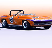 1965 Chevrolet Corvette Production GT by DaveKoontz