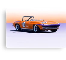 1965 Chevrolet Corvette Production GT Canvas Print