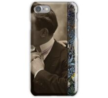 Happy Couple Vintage Hard Journal Cover iPhone Case/Skin