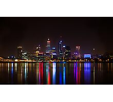 The colour of Perth: Photographic Print