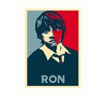 I'm Ron. Ron Weasley Art Print