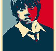 I'm Ron. Ron Weasley by husavendaczek