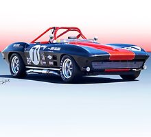 1964 Corvette Convertible Production GT by DaveKoontz
