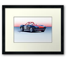1964 Corvette Convertible Production GT Framed Print
