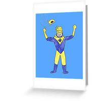 Booster Gold Greeting Card