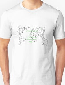wanderlust - a great desire to travel and rove about T-Shirt
