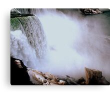 The Mist of the Falls     ^ Canvas Print