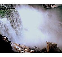 The Mist of the Falls     ^ Photographic Print