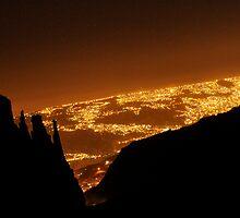 La Paz ecena de noche by sergiocolour