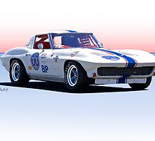 1963 Corvette Stingray Production GT by DaveKoontz