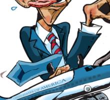 Obama Go! Sticker