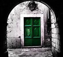 The Green Door by Simon Lindsay