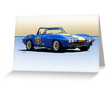 1963 Corvette Production GT Greeting Card