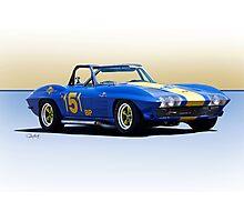 1963 Corvette Production GT Photographic Print