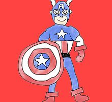Captain America by Nick Nygard