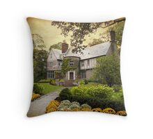 Tudor Style Throw Pillow