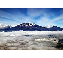 Kilimanjaro - above the clouds Photographic Print