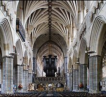 Exeter Cathedral Interior - # 2 by Jazzdenski