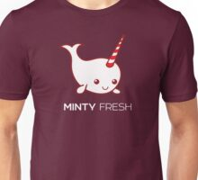 Minty Fresh Baby Narwhal Unisex T-Shirt