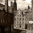 Candlemaker Row by Lesley Williamson