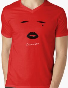 KMO Mens V-Neck T-Shirt