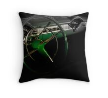1956 Green Hornet Chevy Belair Throw Pillow