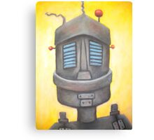 Robot portrait  Canvas Print