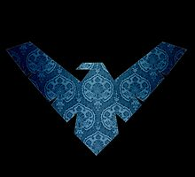 Nightwing Logo 03 by miss0aer