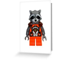 LEGO Rocket Raccoon Greeting Card
