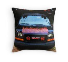 THE CHURCH BUS! Throw Pillow