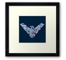 Nightwing Logo 01 Framed Print