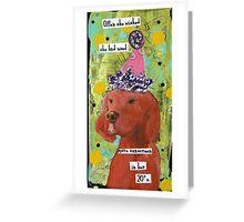 30 SPF Greeting Card