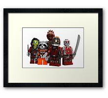 LEGO Guardians of the Galaxy Framed Print