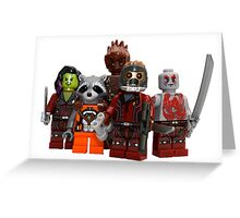 LEGO Guardians of the Galaxy Greeting Card