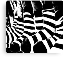 zebra crossing Canvas Print