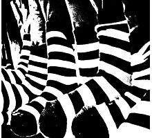 zebra crossing Photographic Print