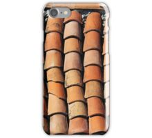 Vintage Roof in Southern France iPhone Case/Skin