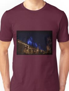 Blue Stacks HDR Unisex T-Shirt
