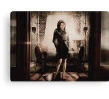 Lana Set: Madam Mayor Canvas Print