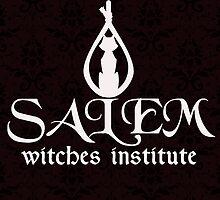 Salem Witches Institute Dark Version by Lorien Hughes
