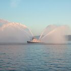 Seattle Fire Boat by Chris Paul