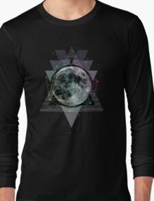 The Moon Long Sleeve T-Shirt