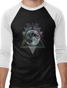 The Moon Men's Baseball ¾ T-Shirt