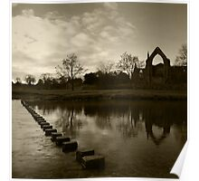 Bolton Priory & The River Wharfe Poster