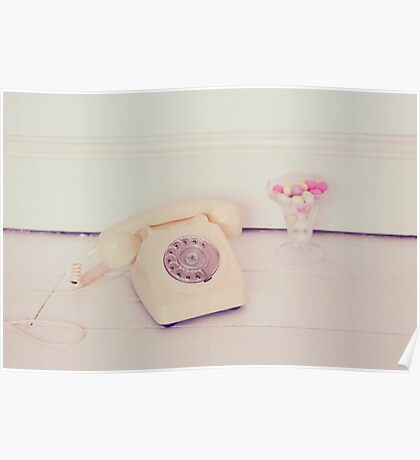 Telephone and Sugar Almonds Poster