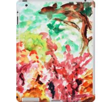 Let's Call It Abstract Leaves iPad Case/Skin
