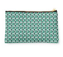Pattern One in Teal Studio Pouch