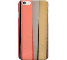 Leather belts Florence Italy iPhone Case/Skin