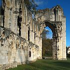 St, Mary's Abbey, York by WatscapePhoto