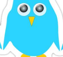 Blue Owls Design Sticker